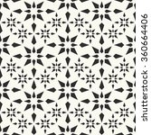 vector seamless pattern. fabric ... | Shutterstock .eps vector #360664406