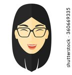 cheerful woman experiencing... | Shutterstock .eps vector #360669335