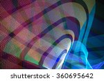led light trails in space | Shutterstock . vector #360695642