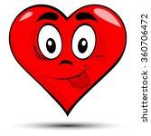 vector illustration of a red... | Shutterstock .eps vector #360706472