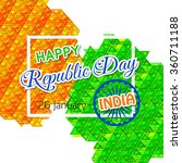 indian republic day background.   Shutterstock .eps vector #360711188