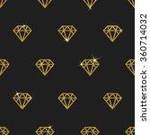 glitter gold diamonds   vector... | Shutterstock .eps vector #360714032