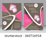 flyer  brochure  magazine cover ... | Shutterstock .eps vector #360716918