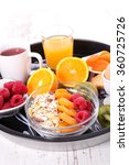 healthy breakfast | Shutterstock . vector #360725726
