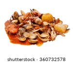 Seafood Fried With Spices