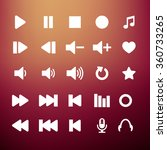 player icon set | Shutterstock . vector #360733265