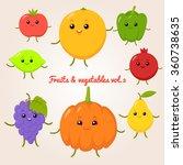 vector set of flat cartoon...   Shutterstock .eps vector #360738635