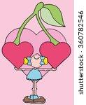 sweet original romantic... | Shutterstock .eps vector #360782546