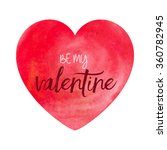 valentines day background with... | Shutterstock .eps vector #360782945