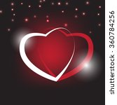 hearts as background.... | Shutterstock .eps vector #360784256