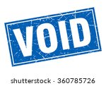 void blue square grunge stamp... | Shutterstock .eps vector #360785726