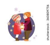 valentine's day. vector... | Shutterstock .eps vector #360809756