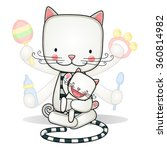 super mom  vector illustration | Shutterstock .eps vector #360814982