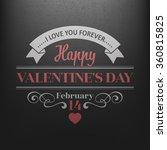 typography postcard happy... | Shutterstock .eps vector #360815825