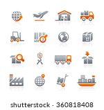 industry and logistics   ... | Shutterstock .eps vector #360818408