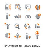 business opportunities icons    ... | Shutterstock .eps vector #360818522
