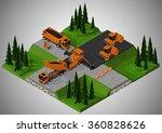 vector isometric illustration...   Shutterstock .eps vector #360828626