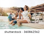 portrait of young people...   Shutterstock . vector #360862562