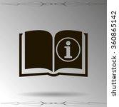 catalog vector icon | Shutterstock .eps vector #360865142