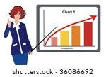 business presentation | Shutterstock .eps vector #36086692