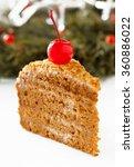 honey cake. | Shutterstock . vector #360886022