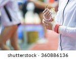 training gymnastic. hands... | Shutterstock . vector #360886136