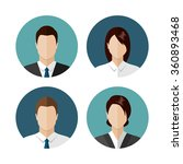 business people icons isolated... | Shutterstock .eps vector #360893468