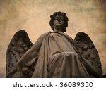 Satue Of An Angel Cimitero...