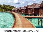 bungalows   Shutterstock . vector #360897272