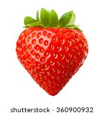 red berry strawberry isolated... | Shutterstock . vector #360900932