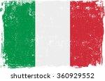 italy vector grunge flag...   Shutterstock .eps vector #360929552