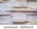 old brown bricks wall pattern   Shutterstock . vector #360931415