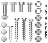 Construction Hardware Icons....