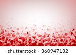 romantic pink background with... | Shutterstock .eps vector #360947132