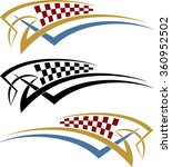 tribal car decal   vinyl ready...   Shutterstock .eps vector #360952502