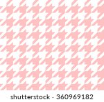 Seamless Houndstooth Pattern...