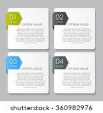 infographic design elements for ... | Shutterstock .eps vector #360982976