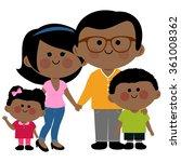 vector illustration of a happy... | Shutterstock .eps vector #361008362
