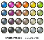 web buttons | Shutterstock .eps vector #36101248