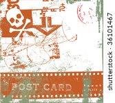 vector grunge background | Shutterstock .eps vector #36101467