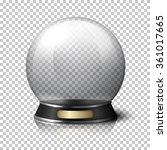 transparent realistic vector... | Shutterstock .eps vector #361017665