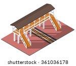 Vector Isometric Railway...
