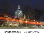 Stock photo hannover germany december hannover germany december evening view of 361040942