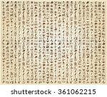 vector illustration of egyptian ... | Shutterstock .eps vector #361062215