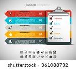 vector illustration of business ... | Shutterstock .eps vector #361088732