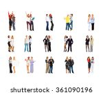 standing together corporate... | Shutterstock . vector #361090196