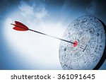 hitting the target | Shutterstock . vector #361091645