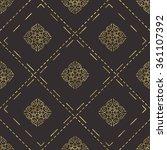 classic stylish seamless... | Shutterstock .eps vector #361107392