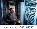 young engineer businessman in... | Shutterstock . vector #361144055