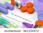 rheumatoid arthritis  ...   Shutterstock . vector #361154372
